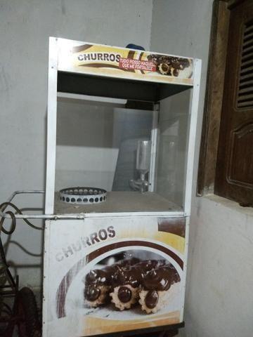 Vendo carrinho de churros R$1.400,00 - Foto 2