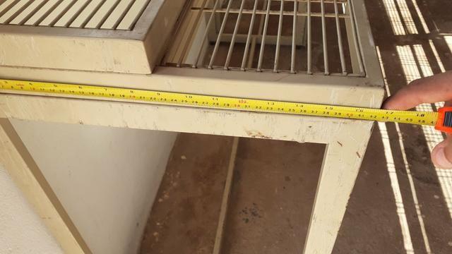 Prateleira metálica 1,33m x 1,21m - Foto 5