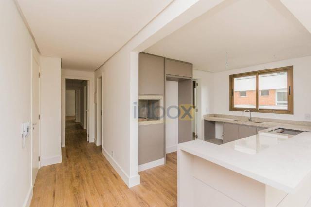 Lindo apartamento 3 suítes semi mobiliado com 116m privativos - Foto 6