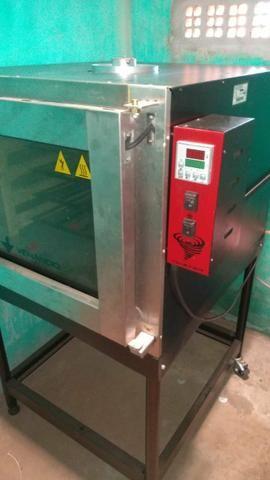 Forno a gás /armário imeca/assadeiras - Foto 2
