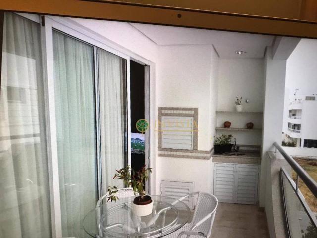 Amplo apartamento de 3 dormitórios sendo 2 suítes no Jurerê Internacional - Foto 4