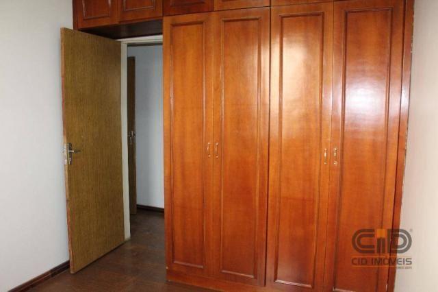 Apartamento com 3 dormitórios para alugar, 120 m² por r$ 1.900,00/mês - miguel sutil - cui - Foto 12