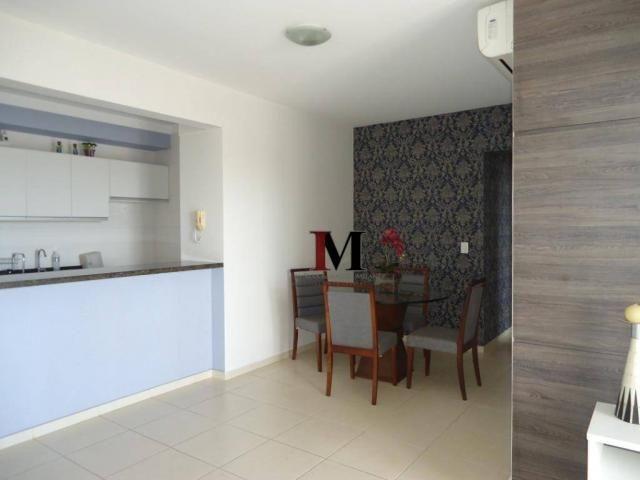 Alugamos apartamento semi mobiliado com 3 quartos em excelente localização - Foto 13