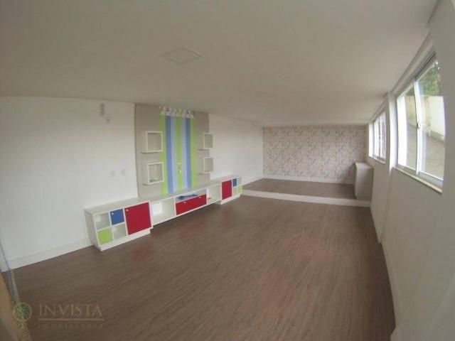 Apartamento novo 3 dormit 3 suítes sacada com churrasqueira - Foto 18