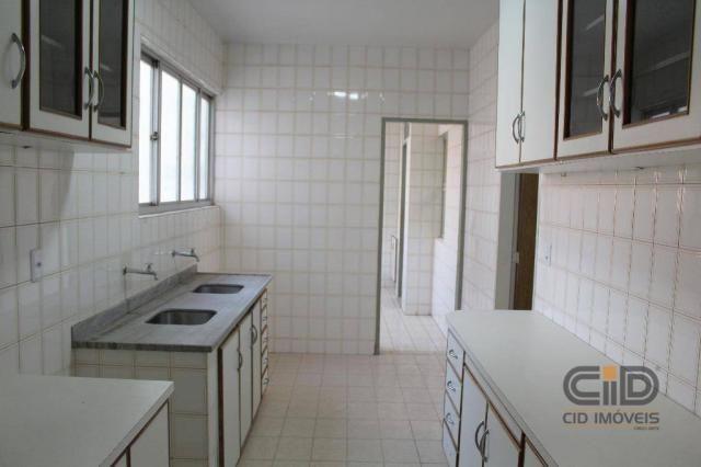 Apartamento com 3 dormitórios para alugar, 120 m² por r$ 1.900,00/mês - miguel sutil - cui - Foto 17