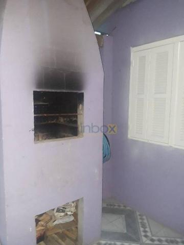 Inbox aluga - casa parte superior de 2 dormitórios com churrasqueira e garagem - Foto 6