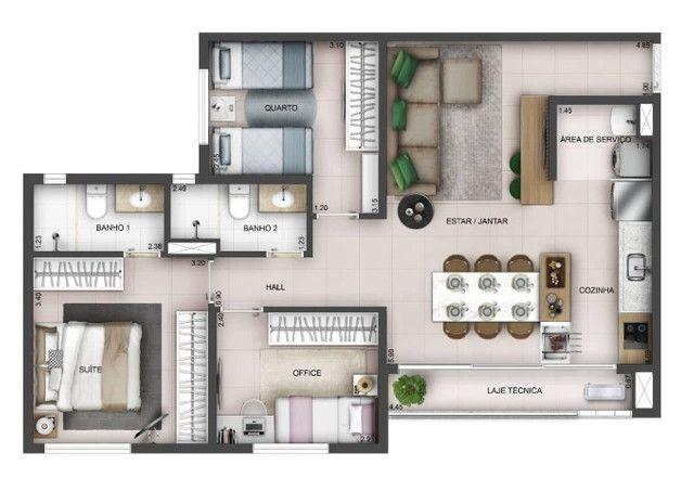 Apartamento de 2/4 com Suíte Setor Aeroporto, Entrada 22 mil - Foto 8