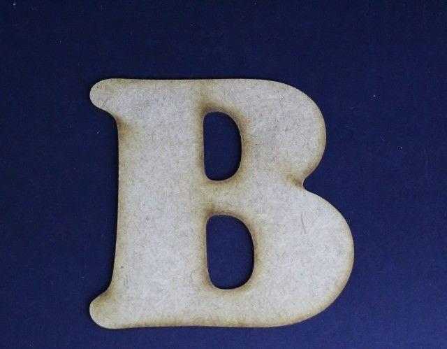 10 Letras do Alfabeto em MDF