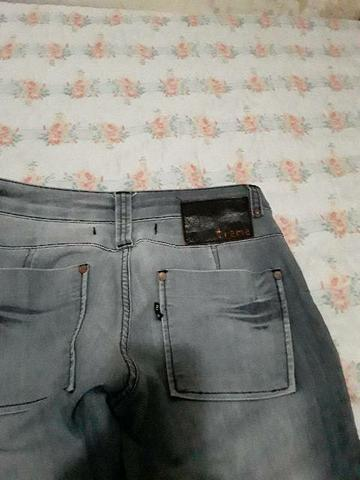 3 Calça jeans número 38 e 1 número 40 nova - Foto 4