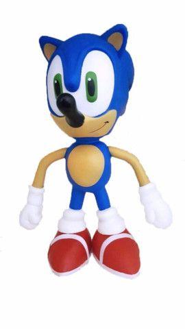 Boneco Sonic Grande Super Size - 23cm - Foto 3
