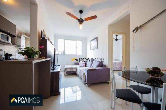 Apartamento com 2 dormitórios para alugar, 54 m² por R$ 1.800,00/mês - Protásio Alves - Po