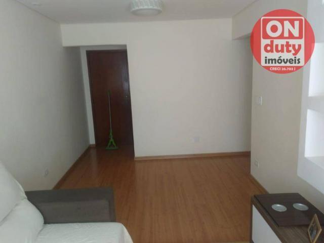 Apartamento com 3 dormitórios à venda, 90 m² por R$ 350.000,00 - Campo Grande - Santos/SP - Foto 3