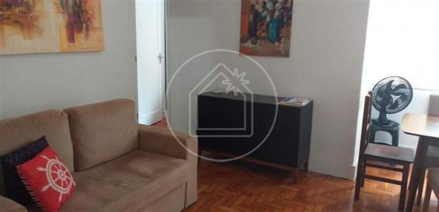 Apartamento à venda com 1 dormitórios em Copacabana, Rio de janeiro cod:877052