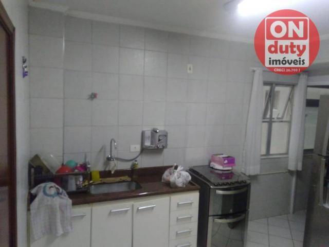 Apartamento com 3 dormitórios à venda, 90 m² por R$ 350.000,00 - Campo Grande - Santos/SP - Foto 10