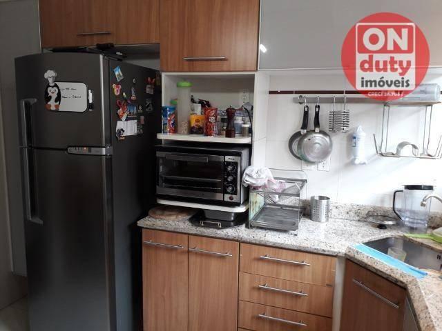 Apartamento com 3 dormitórios à venda, 120 m² por R$ 630.000 - Aparecida - Santos/SP - Foto 6
