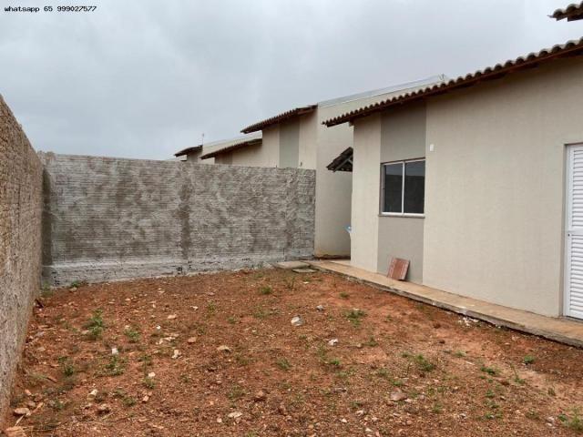 Casa para Venda em Várzea Grande, Jequitibá, 2 dormitórios, 1 banheiro, 2 vagas - Foto 2