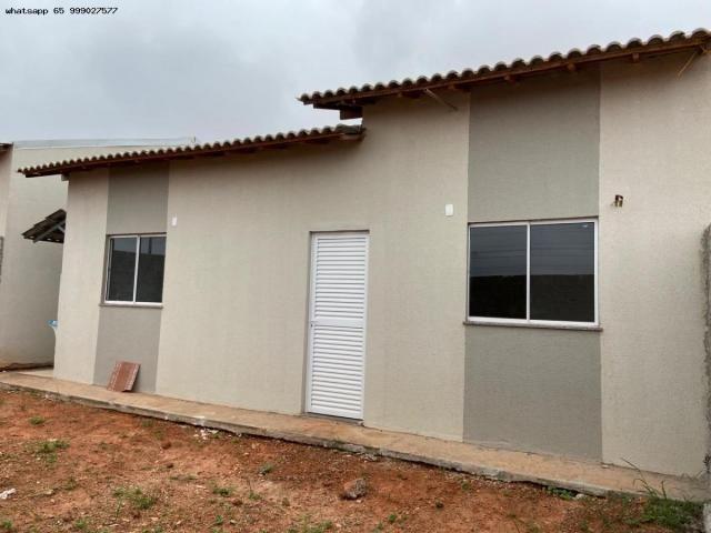 Casa para Venda em Várzea Grande, Jequitibá, 2 dormitórios, 1 banheiro, 2 vagas - Foto 4