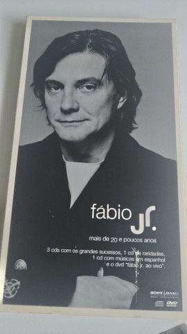 Kit CDs e DVD Fabio Júnior
