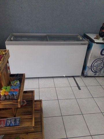 Freezer horizontal gelopar semi novo top - Foto 5