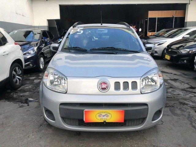 Fiat Uno Vivace 1.0 completíssima - Baixa km! Nova demais! - Foto 2