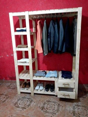 Móveis e decoração rústica  - Foto 6
