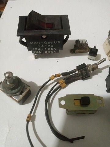 Kit chaves tia tac, push button, potenciometro.  - Foto 2