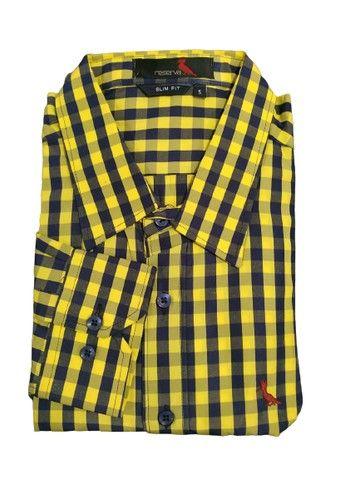 Camisa Xadrez e Listrada Arraia Kadex