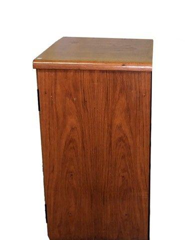 Armário em madeira com duas portas e prateleira interna  - Foto 4