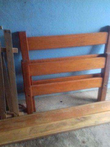 Cama de madeira  - Foto 3