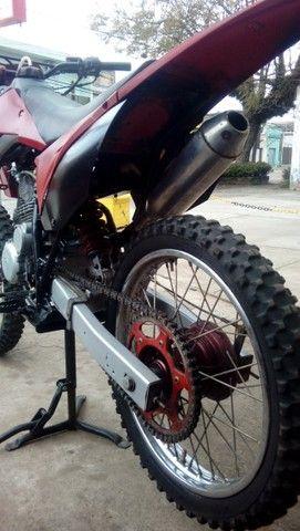 Moto veloterra / trilha CRF 200cc - Foto 3