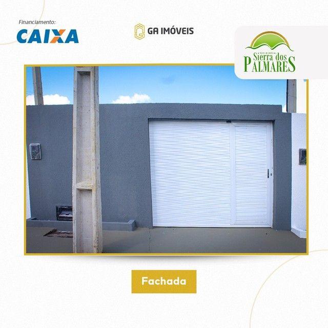 Lindas casas novas em Palmares, Pernambuco, 2 quartos, amplo quintal por apenas 130mil! - Foto 3