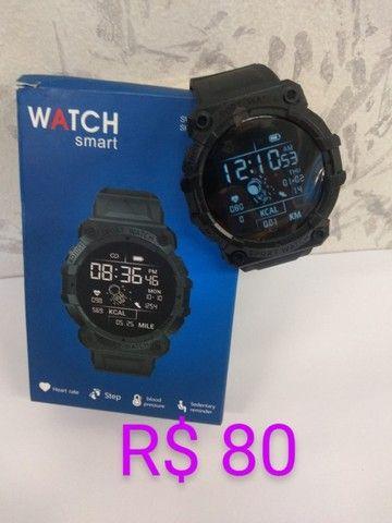 Relógios Smartwatch varios modelos à partir de 40 reais - Foto 6
