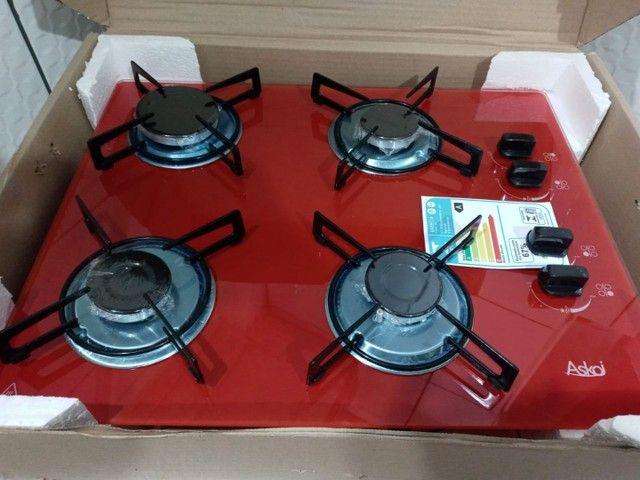 Vendo fogao cooktop novo ñä caixa com balcao - Foto 3