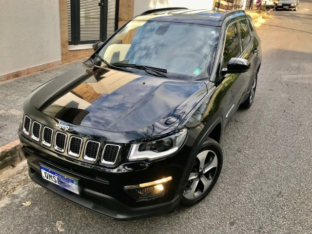 jeep compass 2.0 17/17 feirão automotivo