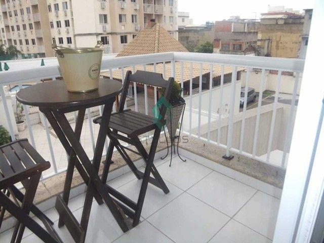Apartamento à venda com 3 dormitórios em Cachambi, Rio de janeiro cod:C3805 - Foto 9