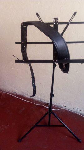 Alça de violão takamine + pedestal de pasta - Foto 3