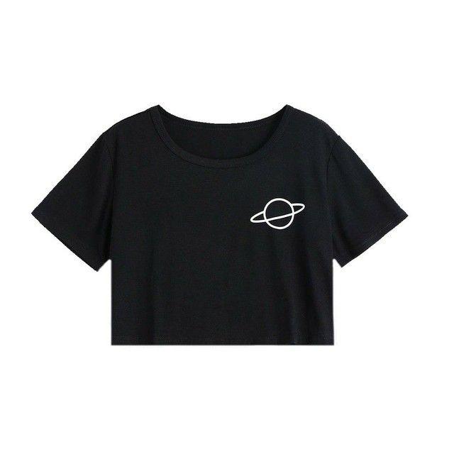 Blusa aesthetic Saturno 50,00 reais
