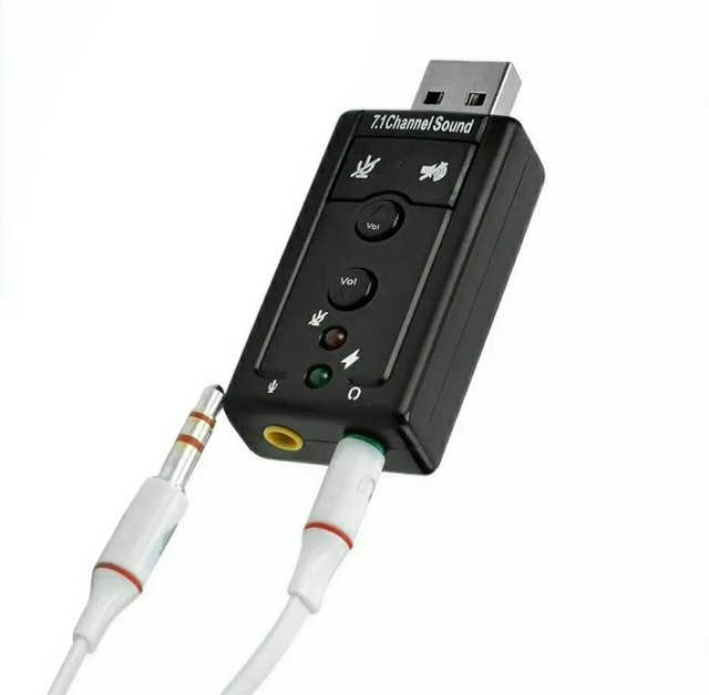 Placa de som USB x P2 - Foto 3