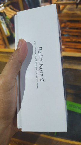 Redmi Note 9 white  - Foto 4