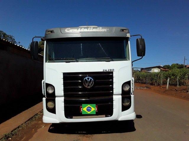 caminhão Volkswagen constellation 24.280  - Foto 6