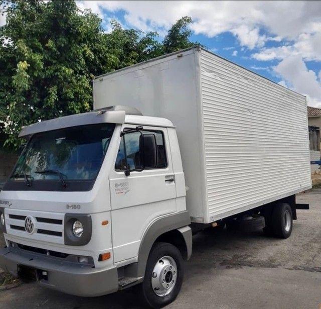 Caminhão MB 8-150 no baú - Foto 4