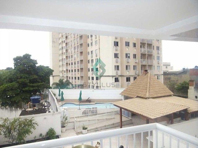 Apartamento à venda com 3 dormitórios em Cachambi, Rio de janeiro cod:C3805