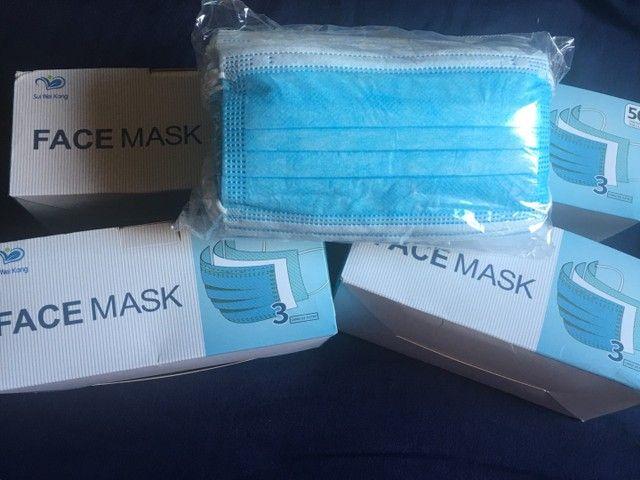 Caixa de máscara de proteção descartável  - Foto 2