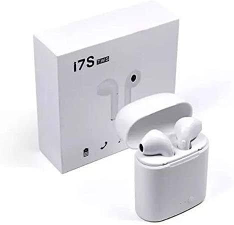 Fone de Ouvido Sem Fio Bluetooth i7S Esportivo Estéreo<br><br>