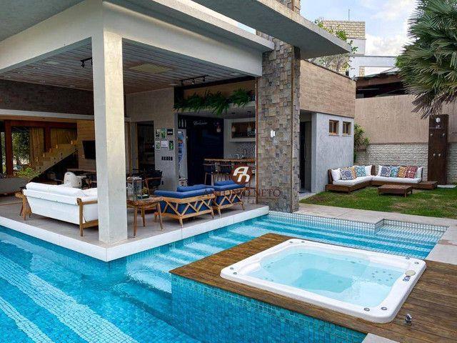 Casa à venda, 406 m² por R$ 3.600.000,00 - Eusébio - Eusébio/CE - Foto 4