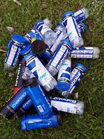 Bolas de tênis usadas - Foto 2