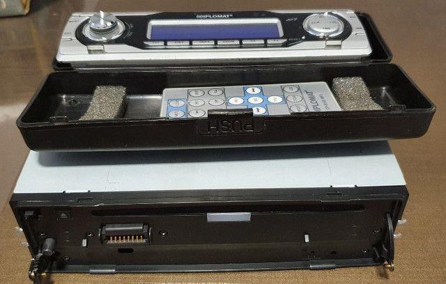 Auto rádio/CD Player AM/FM/MP3 marca Diplomat modelo dp-9150MP3 - Foto 2