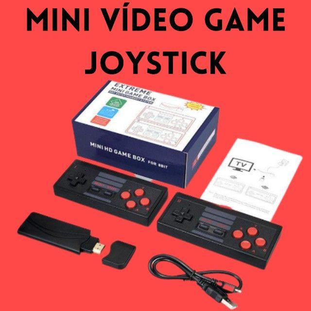Mini Console Retrô Joystick