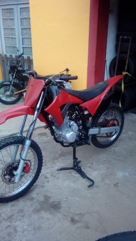 Moto veloterra / trilha CRF 200cc - Foto 6