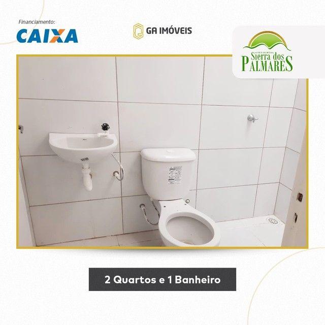 Lindas casas novas em Palmares, Pernambuco, 2 quartos, amplo quintal por apenas 130mil! - Foto 6